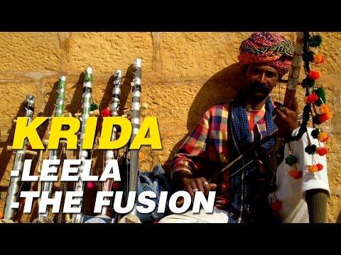 Krida | Leela - The Fusion| Indian Classical Fusion Music
