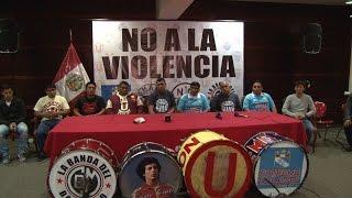 Las barras más importantes del país se unen contra la violencia