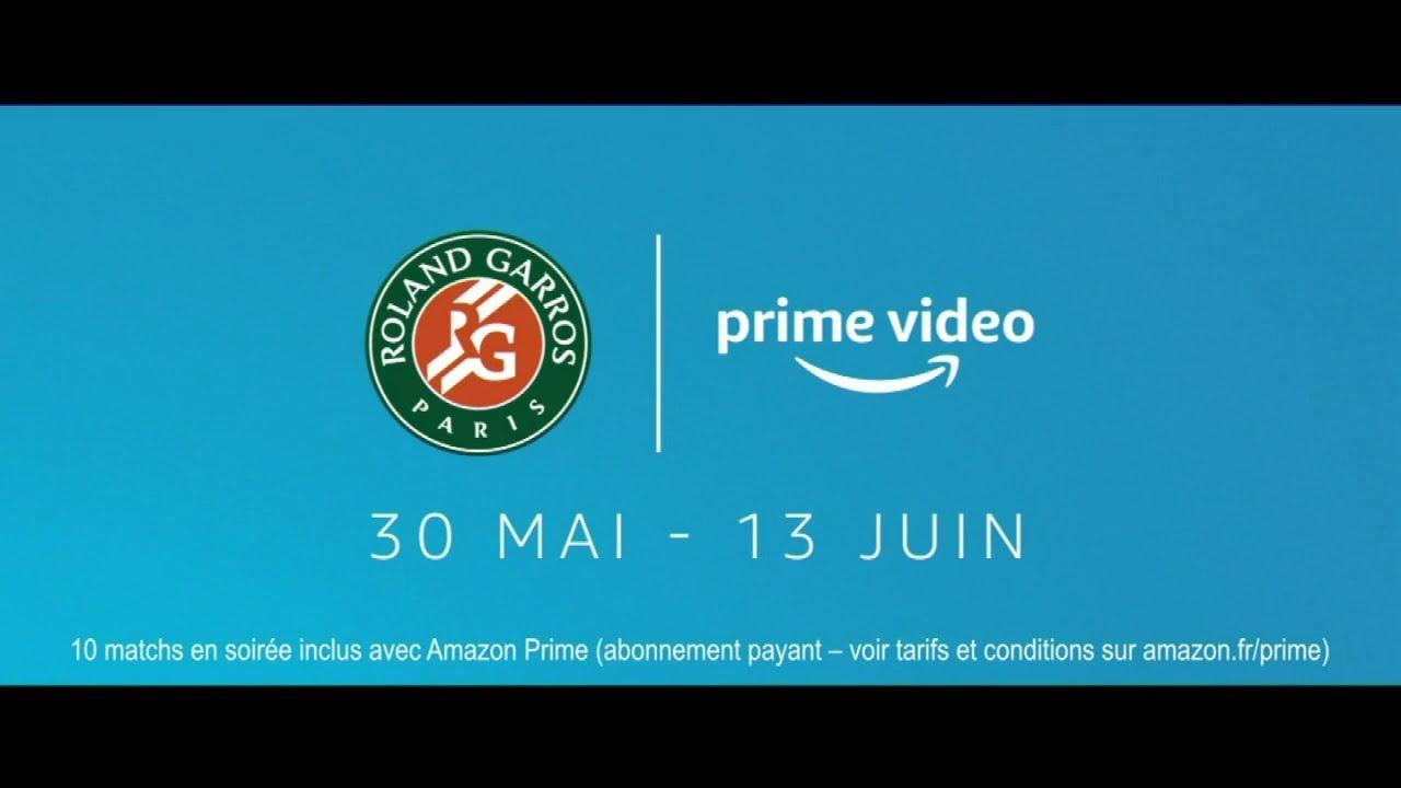 """Musique de la pub Amazon Prime Video Rolland Garros """"30 mai au 13 juin 2021""""  Mai 2021"""