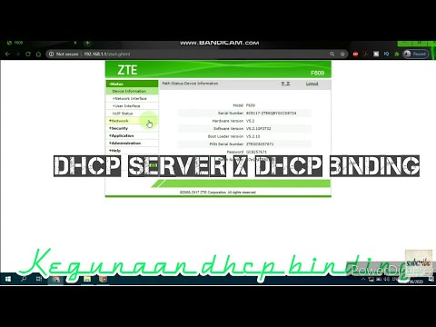 dhcp-||-dhcp-binding-||-zte-f609-||-router-||-indihome