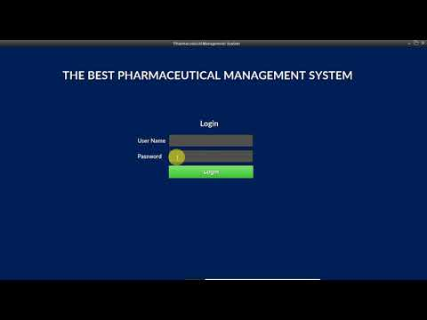 Pharmacy Management System With Complete Source Code In JAVA