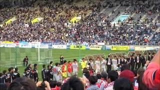 2014年11月23日 ロアッソ熊本 VS アビスパ福岡 レベルファイブスタジアム.