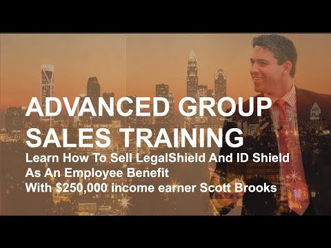 Advanced Group Sales Training With Scott Brooks