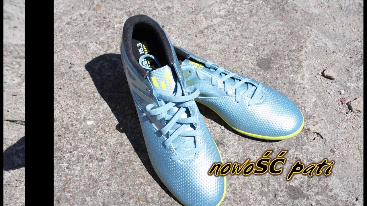 oficjalny sklep więcej zdjęć najniższa zniżka Buty Sportowe Adidas Messi edition 15.3 IN B32898 unboxing first look new  2015 pokaz