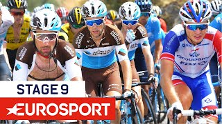 Vuelta a España 2018 | Stage 9 Highlights | Cycling | Eurosport