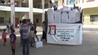 وصول مساعدات إماراتية إلى عدن