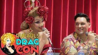 Wigging Out with Valentina, Tony Medina, India Ferrah, and Serena Cha Cha RuPaul's DragCon 2017