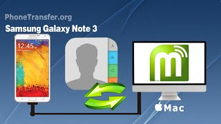 Galaxy Note 3 Contacts Backup & Restore on Mac, Backup and Restore Contacts on Galaxy Note 3
