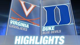 Virginia vs Duke | 2014 ACC Football Highlights