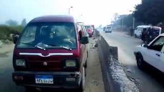 حادث في مدخل القناطر الخيرية
