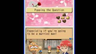 Harvest Moon: Island of Happiness - Elliot's Proposal and Wedding
