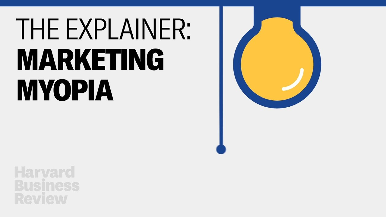Marketing myopia: Consumer needs, organizational restructuring and recovery