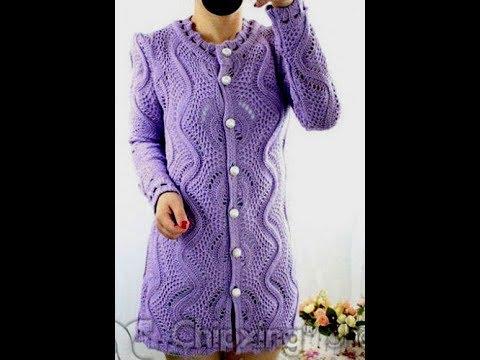 Вяжем Спицами - Изысканные Кофты, Кардиганы 2019 / Knit With Spades Exquisite Cardigans Sweatshirts