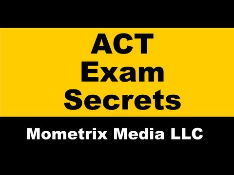 ACT Test Tips and Tricks - Free ACT Math Help