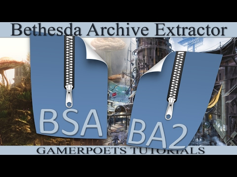 BAE Bethesda Archive Extractor at Fallout New Vegas - mods and community