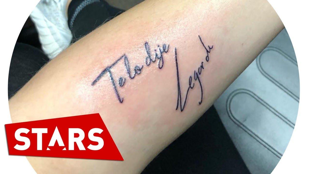 Familia De Legarda Se Hace Un Tatuaje En Su Memoria Youtube