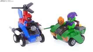 LEGO Mighty Micros Spider-Man vs. Green Goblin review! 76064