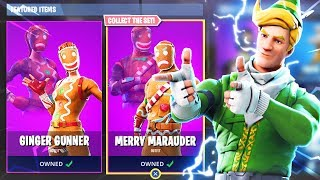 Nouvelle mise à jour Fortnite CHRISTMAS SKINS Item Shop! (New Fortnite Battle Royale Christmas Skins)