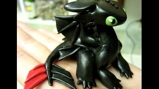 DIY - Polymer Clay Toothless Tutorial