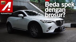 Mazda CX-3 review & test drive by AutonetMagz
