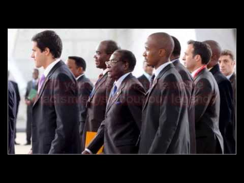Mugabe hero of Africa (One of Protecting Africa early video when it was hot in Zimbabwe)