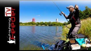 Vlog #21 Рыбалка на фидер. Ловля леща на гребном канале. Донка на канале в черте города.