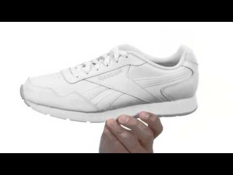 Reebok Royal Glide Men s Running Shoe - YouTube fb4e16126