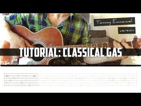 Tutorial: Classical Gas (Tommy Emmanuel arr.)
