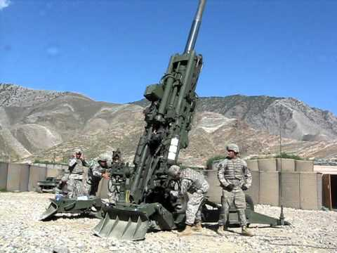 Taliban dying! Artillery fire in Afghanistan (Pech river Valley)
