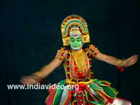 Ottanthullal - the satiric solo dance