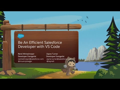 Be An Efficient Salesforce Developer With VS Code