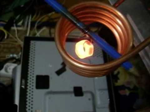Home made induction heater. We have 3kW! :)