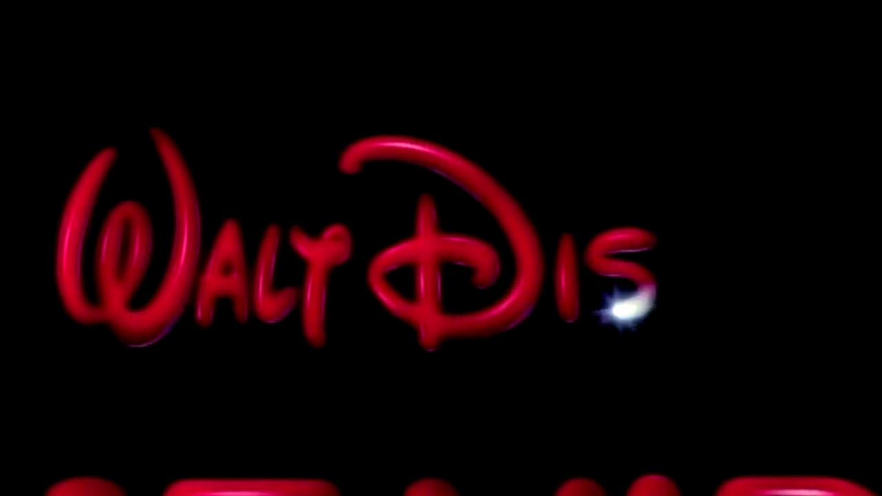 Walt Disney Home Video Logo 1986 Hd Widescreen Edit Youtube