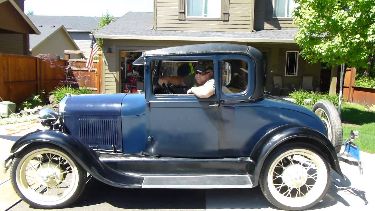 Ford, 1928 Model A Special Coupe - YouTube