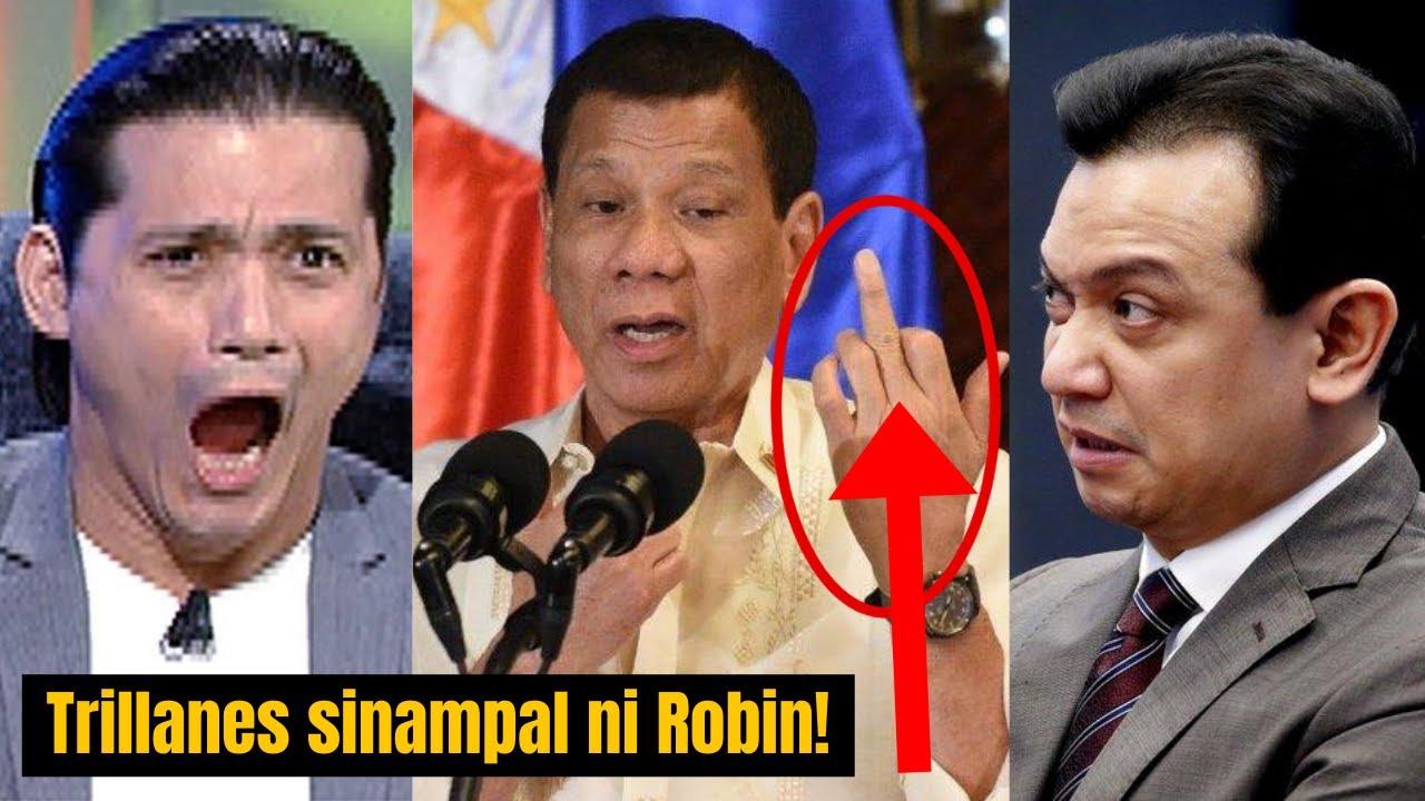 TRENDING: Trillanes hindi nakapalag kay Robin Padilla nang Sampalin ng masasakit na salita