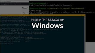 Tutoriel PHP : Installer PHP / MySQL sur Windows Mp3