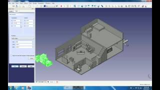 Freecad Merging House Intergrated Systems