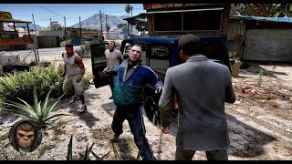► GTA 6 Photorealistic Graphics 🔥 FIST FIGHT! ✪ NVR - ULTRA Realistic PC GAMEPLAY 60FPS GTA V MOD