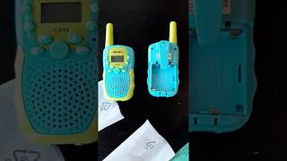 Obuby Walkie Talkies for Kids Review, Great toy for the kids