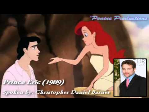 English Voices of Disney Princes/Heroes *Part 1: 1937-1996*