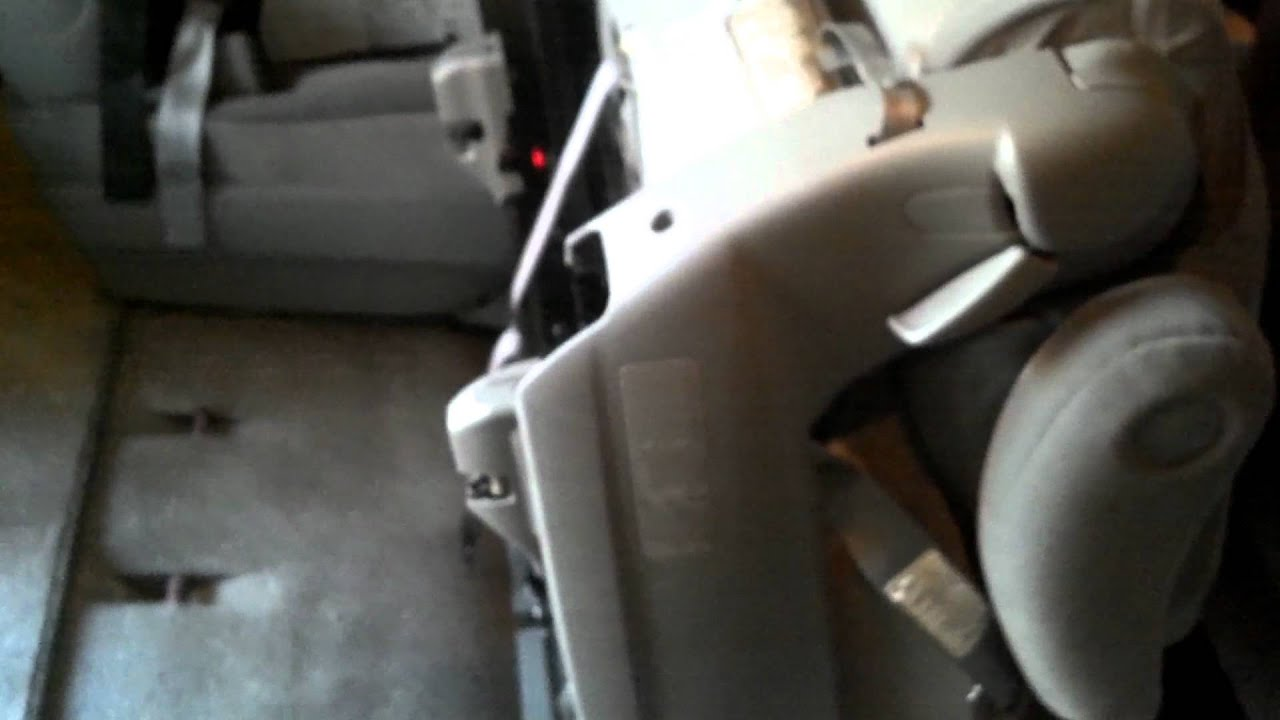 2010 Toyota Sienna Second Row 2nd Row Seat Tumble And