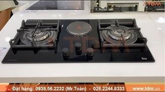 TDM.VN | Review bếp ga Teka CGW Lux 78 2G 1P AI AL 2TR CI 40215002 có 3 bếp hàng châu Âu