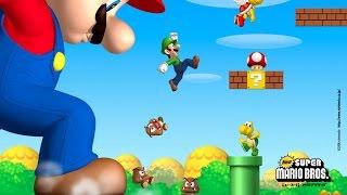 New Super Mario Bros - Llega Gigante A La meta - Mundo 1-1 - Millennium Gamer X