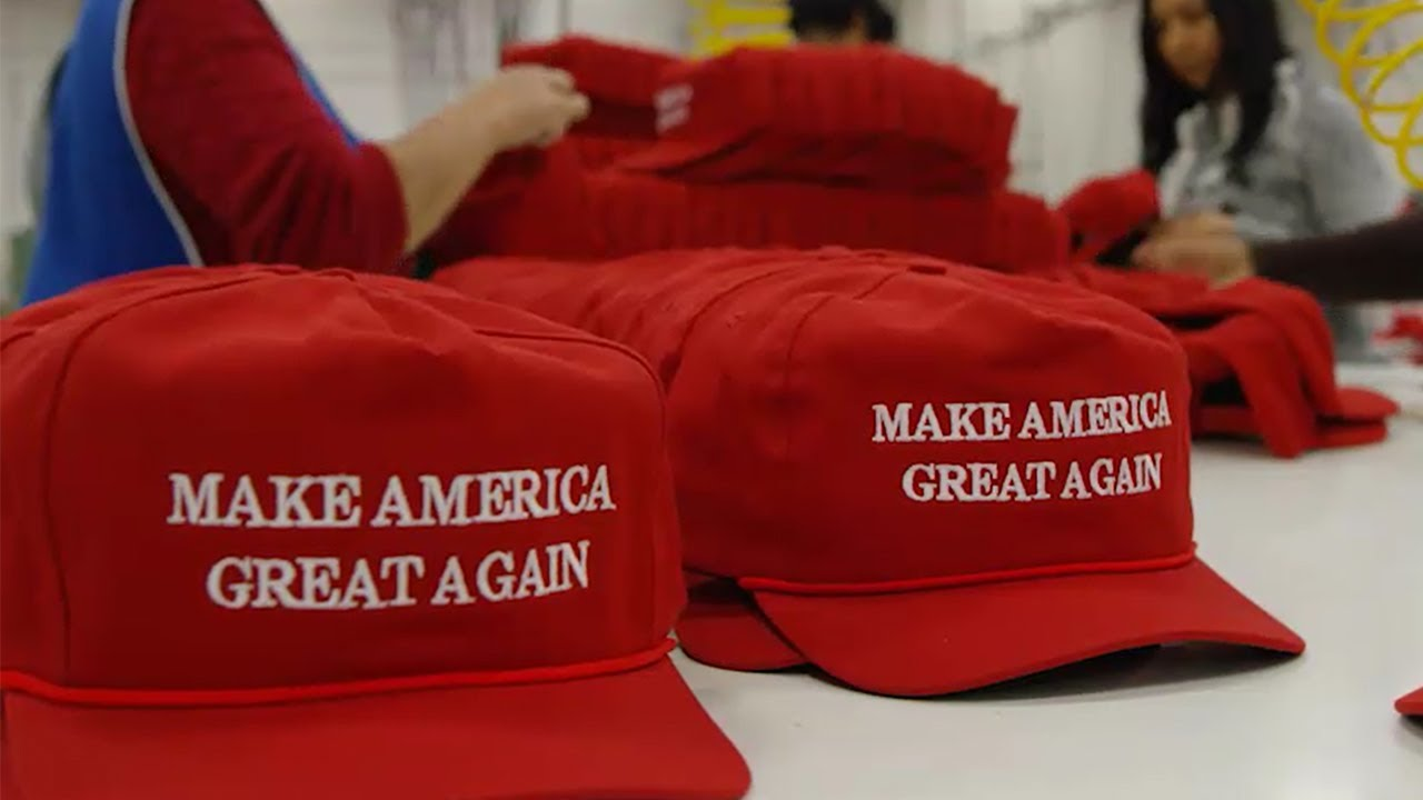 Get the Facts  No Fake MAGA Hats - YouTube 1d8454ed268