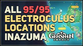 All 95 Electroculus Locations Genshin Impact