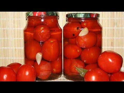 Сладкие МАРИНОВАННЫЕ ПОМИДОРЫ. Самый вкусный рецепт маринада для помидор.