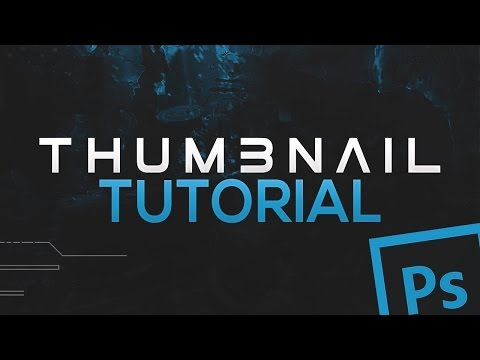 How To Make A Clean/Professional Thumbnail For YouTube Videos! Using CC/CS6! (2016/2017)
