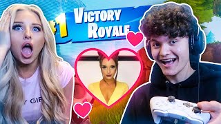 IF YOU WIN FORTNITE, You Can DATE my Little Sister!!!