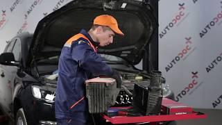 DIY Reparatur von AUDI Q7 - Kfz-Video-Anweisung