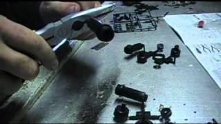 Tamiya CR 01 Project Buckin Bronco Build Video 3